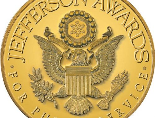 Sue Desautels of Clap Your Hands & Jefferson Award